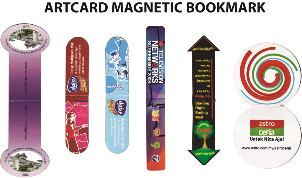 Artcard Magnetic Bookmark