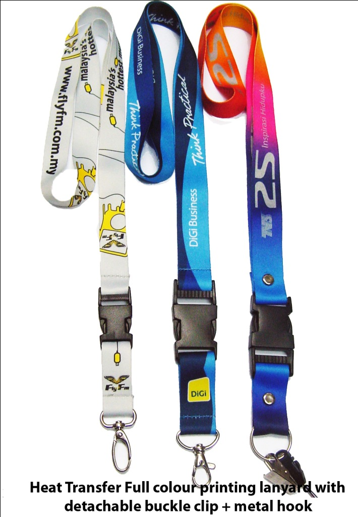 Heat Transfer Full Colour Print Lanyard