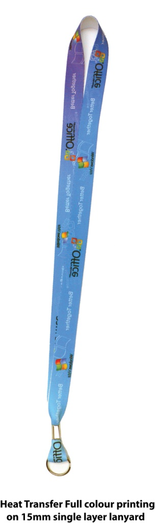 HeatTransfer Full Colour Print Lanyard